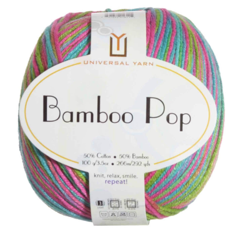 Light And Breezy Bamboo Pop Yarn Bamboo Cotton Blend