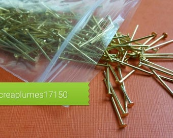 200 studs 18mm Gold Iron Rod