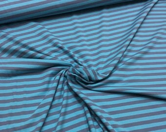 Blue and grey stripe - Jersey