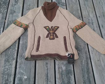 VTG SKUA weather wear pullover sweater/ 1960s sweater
