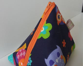 teacher gift idea owl coin purse