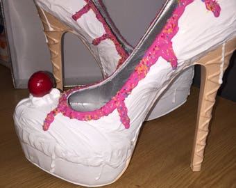 Ice cream-unique-heels-wedding-prom
