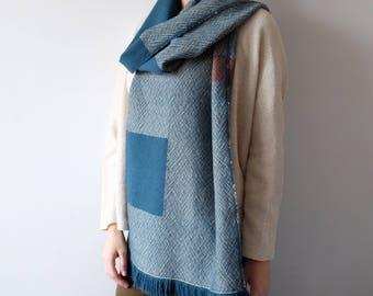 100% Australian Merino Wool Unisex scarf