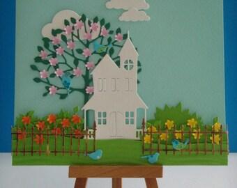Kit card the garden to make you