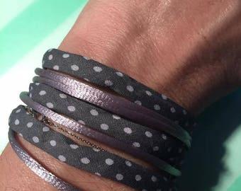 Ribbon cuff Bracelets jewelry