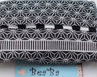tissue case fabric geometric patterns