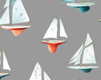 fabric 280cm L, nice boat, beach, Voiliersthevenon