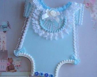 1 BODY Baby / Boy (Birth, Baptism, etc.) Customizable, Model Unique