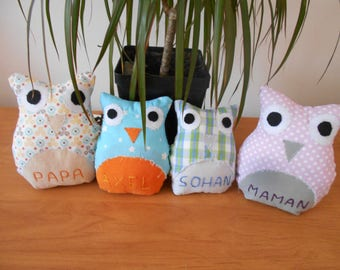 Set of 4 OWL plushies * only to order *.