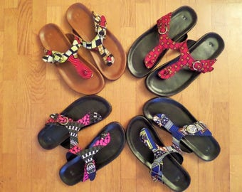 Barefoot leather covered with wax (Ankara)
