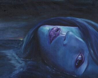 Ayana Digital Download Printable Art High Resolution fantasy art realistic surreal popsurrealism