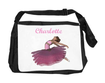 Dancer bag personalized with name