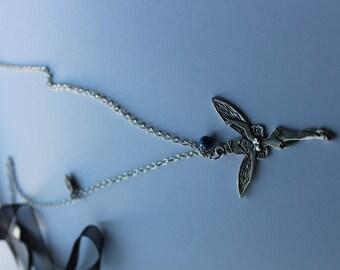 sautoire fairy pendant necklace