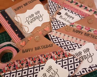 Mixed birthday / occasion cards