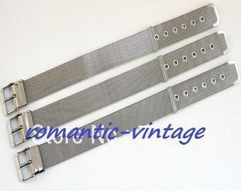 18mm: bracelet blank steel stainless 18mm