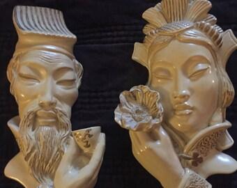 Chinese Ceramic Heads