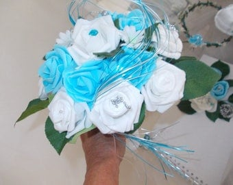 Maid of honor wedding bouquet