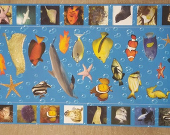 Stickers fish scrapbooking stickers