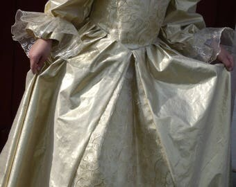 "Princess dress ""Sun color"""