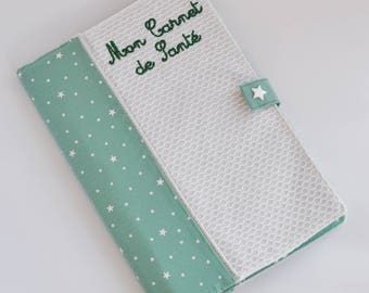 Protects health record mint ice, stars and white