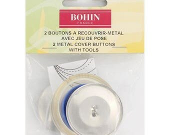 Button cover + 38mm brass tool
