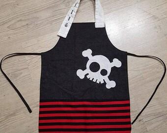 Child apron ground pirate