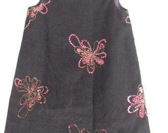 Pretty winter dress sequined T 5/6 years
