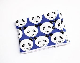 Size 0/24 months Snood pandas