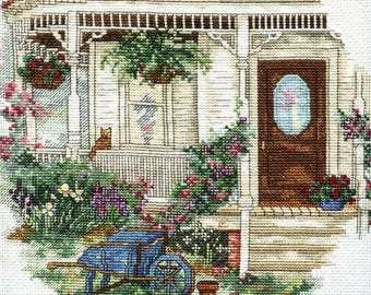 Paula Vaughan's Golden Needle Collection - The House That Love Built - Counted Cross Stitch Kit