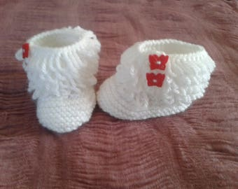 little baby booties for 0 to 3 months