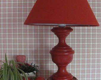 Table lamp redesigned Bohemian style