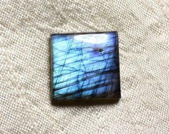 Cabochon - Labradorite stone 21mm N43 square - 4558550084972