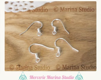 20 hooks earrings in Sterling Silver 925th
