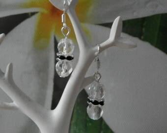 upside down earrings in Silver 925 / °