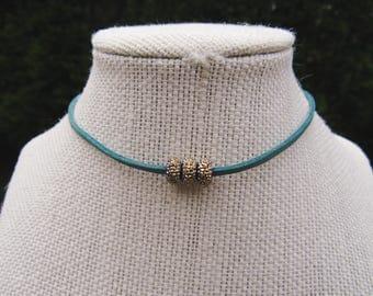 Dazzle Me Choker - Turquoise