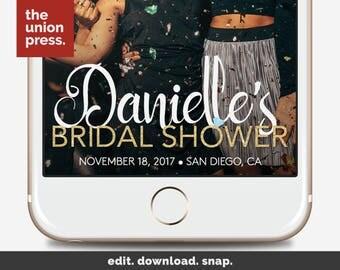 Bridal Shower Snapchat Filter - Bridal Shower Filter - Bridal Shower Geofilter - Bridal Snapchat Filter