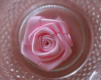 pale pink rose flower fabric scrapbooking