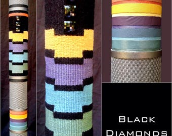 Black Diamonds (Handwoven Series)