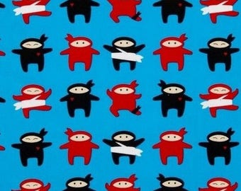 Mini patchwork ninja 54cmx22 cm fabric coupon