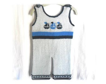 "combination overalls 6 months baby knitting patterns ""boats"""