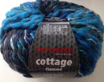 Austermann Cottage blue yarn