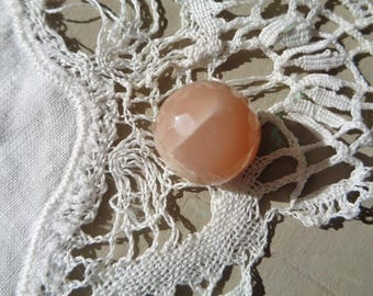 A beautiful and large faceted Agate bead-