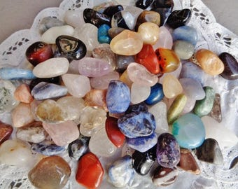 100 stones,100 semi precious stones,rolled stones,SPECIAL discount,Lithotherapy,collections