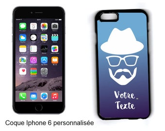 "CASE hard IPHONE 6 / 6 S/7 ""HIPSTER"" personalized"