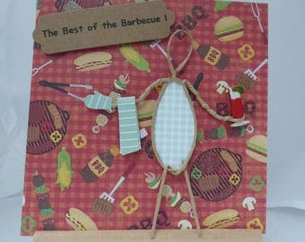 Personalized card: the joys of the BBQ!