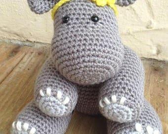 Amigurumi - Hippo