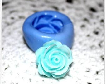 Mold silicone Fleur rose 14mm