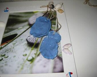 hanging Medallion oyster shells
