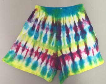 Tie Dyed Shorts - Size Small