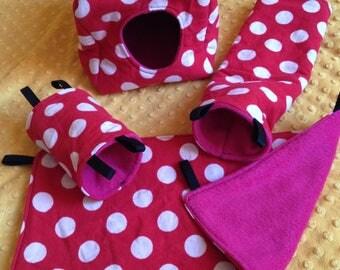 RAT set polka-dots
